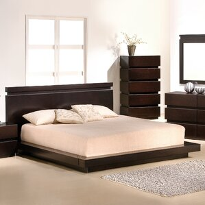 Knotch Platform Bed by J&M Furniture