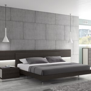 Maia Platform Bed by J&M Furniture