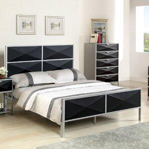 Mason Upholstered Platform Bed by Hokku Designs On sale