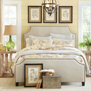 Parker Upholstered Panel Bed by Birch Lane