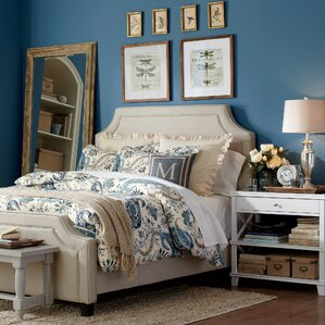 Parker Upholstered Bed by Birch Lane