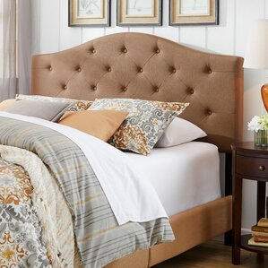 Upholstered Panel Bed by Three Posts