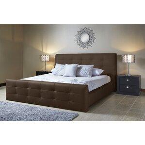 Upholstered Platform Bed by Lind Furniture