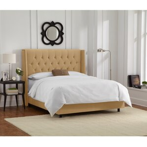 DeMille Upholstered Panel Bed by House of Hampton