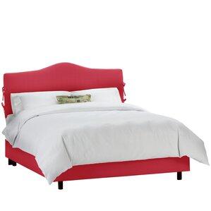 Fleet Upholstered Panel Bed by Alcott Hill®