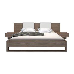 Monroe Upholstered Platform Bed by Modloft
