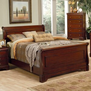 Victor Sleigh Bed by Darby Home Co®