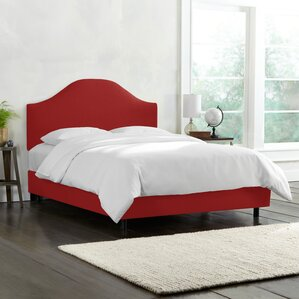 Upholstered Panel Bed by Alcott Hill®