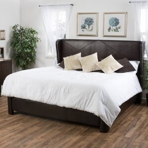 King Upholstered Panel Bed by Alcott Hill®