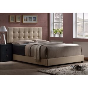 Upholstered Panel Bed by Varick Gallery®