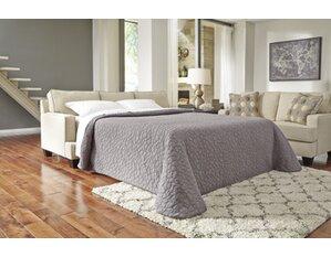 Jennifer Leather Sleeper Sofa by Wayfair Custom Upholstery Buy