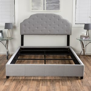 Lyndhurst Upholstered Platform Bed by Alcott Hill®