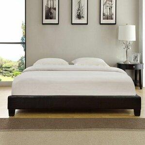 Isa Upholstered Platform Bed by Wade Logan®