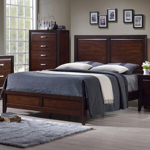 Barwood Panel Bed by Simmons Casegoods by Alcott Hill®