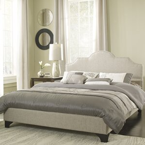 Upholstered Platform Bed by Eco-Lux