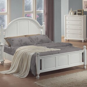 Bradstane Panel Bed by Charlton Home®