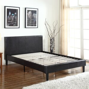 Upholstered Platform Bed by Madison Home USA