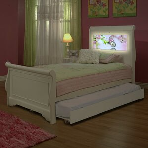 Edgewood Full/Double Sleigh Bed by LightHeaded Beds