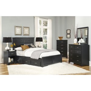 Storage Panel Bed by August Grove®