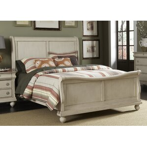 Pinesdale Sleigh Bed by August Grove®