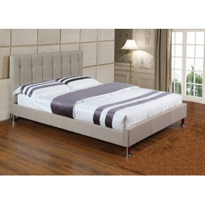 Seraphin Upholstered Platform Bed by House of Hampton