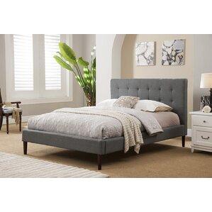 Queen Upholstered Platform Bed by Brayden Studio®