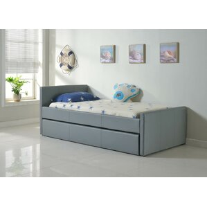 Duetto Upholstered Platform Bed by Casabianca Furniture