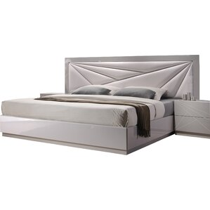 Ernesto Upholstered Platform Bed by Wade Logan®