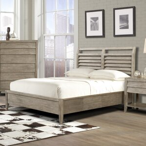 Panel Bed by Beachcrest Home
