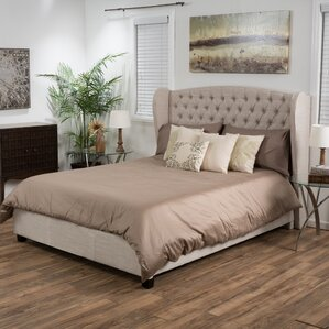 Cadmore Upholstered Panel Bed by Rosalind Wheeler