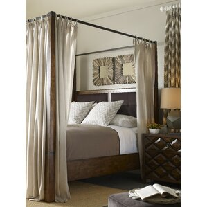 Segula Upholstered Canopy Bed by Loon Peak®