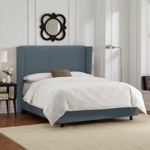 Upholstered Panel Bed by Brayden Studio®