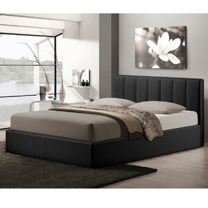 Baxton Studio Queen Upholstered Storage Platform Bed by Wholesale Interiors