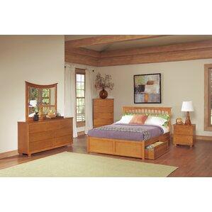 Davenport Storage Platform Bed by Andover Mills®