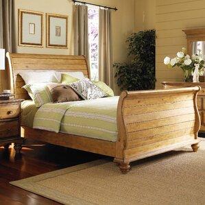 Harlowton Sleigh Bed by Loon Peak®