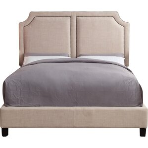 Sanibel Queen Upholstered Panel Bed by Mulhouse Furniture