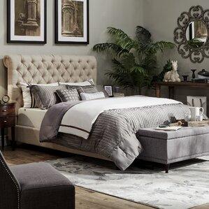 Nais Upholstered Platform Bed by Lark Manor