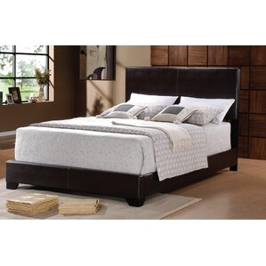 Lympsham Upholstered Panel Bed by Wade Logan®