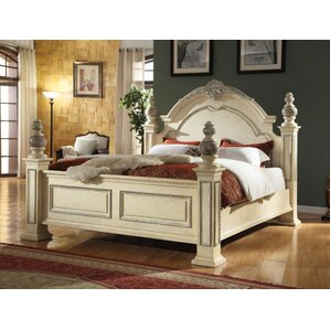 Sienna Panel Bed by Meridian Furniture USA