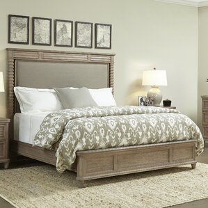 Hadley Upholstered Panel Bed by Stanley Furniture