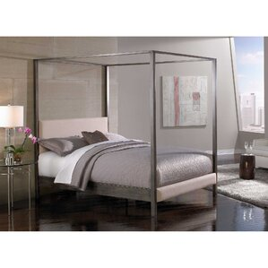 Vurste Upholstered Canopy Bed by House of Hampton