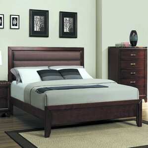 Garner Upholstered Panel Bed by Darby Home Co®