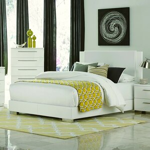 Upholstered Platform Bed by Wade Logan® Sale
