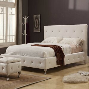 Lesdain Upholstered Platform Bed by House of Hampton