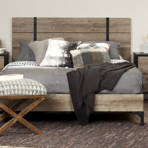 Valet Queen Platform Bed by South Shore