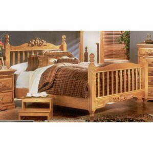 Country Heirloom Panel Bed by Bebe Furniture