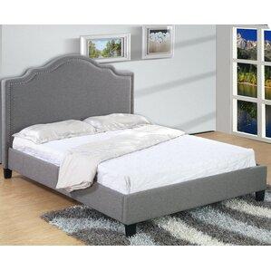 Upholstered Platform Bed by Best Quality Furniture