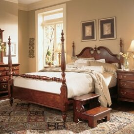 Four poster Bed by American Drew