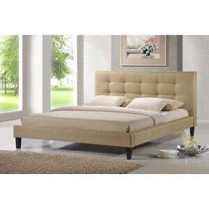 Frisina Upholstered Platform Bed by Brayden Studio®