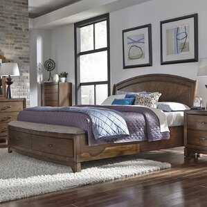 Aranson Upholstered Panel Bed by Darby Home Co®